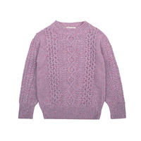 the new society / Noel Knit Jumper - LAVANDA