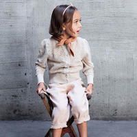 SOOR PLOOM / Rose Cardigan - MILK