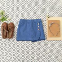 SOOR PLOOM / Olive Skort - Blue Jay