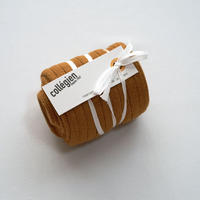 Collégien / La Haute Ribbed Knee-High Socks - Mustard