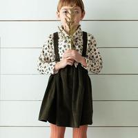 SOOR PLOOM / Eloise Pinafore - PEAT WIDE WALE CORDUROY