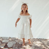 liilu / Smocked dress - Sandy stripes