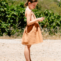 liilu / Mina Apron - Terracotta