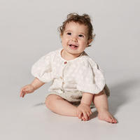 Yellowpelota / Violet Blouse (Baby) - White