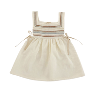 liilu / Folk Emma dress - Milk