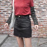 デニム ミニ スカート