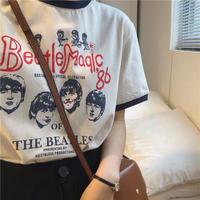 シルエットファッションTシャツ