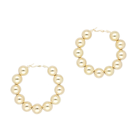 Big ball pierces / gold