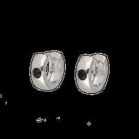 Swaro hoop pierces / silver
