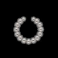 Mini ear cuff / silver