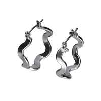 Wave pierces / silver