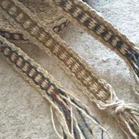 ヒマラヤンヘンプの手織りベルト約9.5m