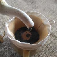 500回使えるヘンプシルクのコーヒーフイルター
