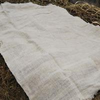 ヒマラヤンヘンプ100%の手織りシーツ