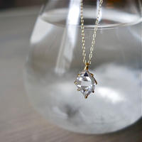 ハーキマーダイヤモンドネックレス(L) K18YG