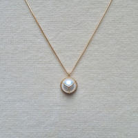 1/2 Akoya pearl necklace / 7mm
