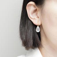 Drop quartz earrings