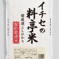 【お米のプロが選んだこだわりのお米】イチセの料亭米 5kg