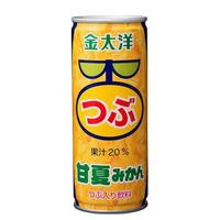 昔なつかしい つぶつぶ甘夏みかんジュース1ケース(250g×30本入り)