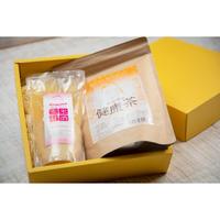 【ギフトやプレゼントに♡】卑弥呼の健康茶と玄米甘酒のセット 化粧箱入り