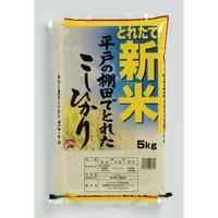 【令和元年産新米入荷】長崎県平戸の棚田で獲れたこしひかり5kg
