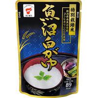 新潟県南魚沼市産コシヒカリ100%使用!カロリーたったの89l☆お米本来の美味しさが味わえる「魚沼白がゆ」