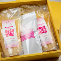 【ギフトやプレゼントに♡】卑弥呼のコラーゲンと玄米甘酒2本のセット 化粧箱入り