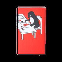 さかざきちはる【ペンギン、チーバくんを描く 測量野帳】   P-102