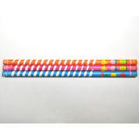 【うずまき鉛筆 フルーツ硬度B3本セット】アイボール