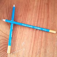 【リラ・プラスト鉛筆1本】ガラス・プラスチック・メタルに書ける鉛筆