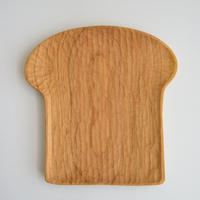mujina木工房 パン型手彫り皿