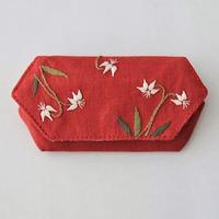 TETOTE カードケース origami カタクリ 赤