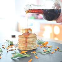 楽健寺酵母で作るパンケーキの作り方