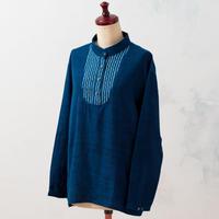 Indigo pullover:ladies (Rain)