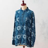 Indigo pullover:ladies (Dahlia×Rain)