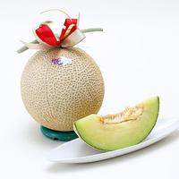 準萬点メロン1玉約1.5kg(産地:静岡県)品質保証付き クボタフルーツセレクター測定済み