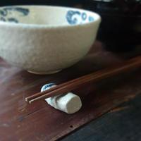小さな陶器のはしおき4個セット