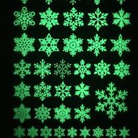 雪の結晶 蓄光シート A6 «佐々之助»