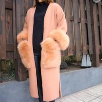 FOX far gown coat