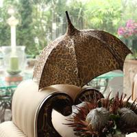 leopard parasol