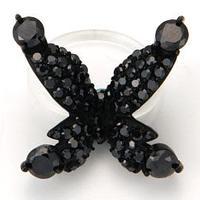 Papillon Floating ring-black