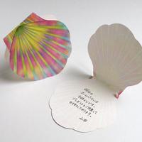 Shell Memo Card