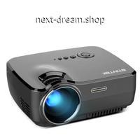 新品送料込   プロジェクター ホームシアター用  ポータブルミニ LED シネマビデオ HD USB HDMI  m00504