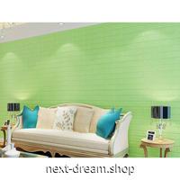ウォールステッカー 3D壁紙 77×70cm カラフルレンガ ライトグリーン 防水 家具リフォーム キッチン・お風呂・古いドアにも m02735