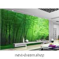 3D壁紙 1ピース 1㎡ 自然風景 グリーン 竹の森 癒し効果 インテリア 寝室 リビング ショップ 耐水 防カビ m04357