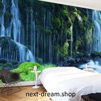 3D 壁紙 1ピース 1㎡ 自然風景 癒し 滝 森 インテリア 装飾 寝室 リビング h02199