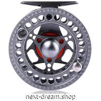 新品 フライリール 釣り道具 お洒落 フィッシング スプール ドラグ  シルバー 5/6 魚 m01991