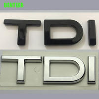 アウディ ステッカー ABS プレート TDI リア ボディ エンブレム Audi A6 C6 A8 Q3 Q5 Q7 h00338