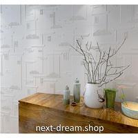 【3D壁紙】 70×70cm 立体壁画デザイン 白 接着剤付 高級クロスステッカー 部屋 リビング ショップ DIY 防水 m03988