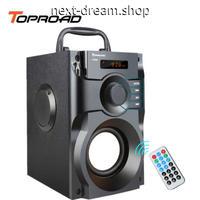 新品送料込  ポータブルスピーカー HIFI Bluetooth ワイヤレス 重低音 オーディオ機器 音楽 バンド パーティ プレゼント  m00608